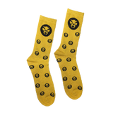 Thundercat Gold Glitter Socks