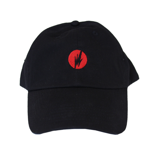 Black/Red Brainfeeder Logo Hat