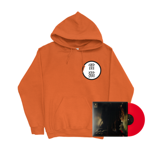 Thundercat Keikogi Hoodie + It Is What It Is Red Vinyl Bundle
