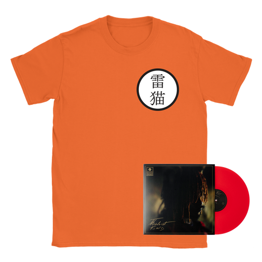Thundercat Keikogi Tee + It Is What It Is Red Vinyl Bundle