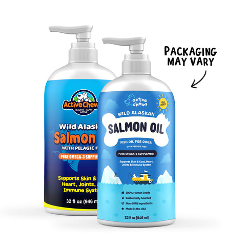 Active Chews Wild Alaskan Salmon Oil