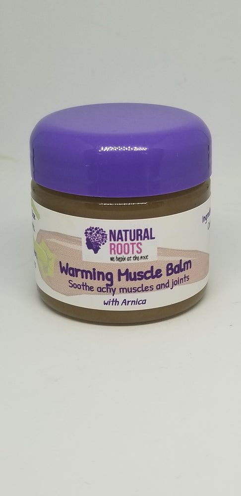 Warming Muscle Balm 2oz.