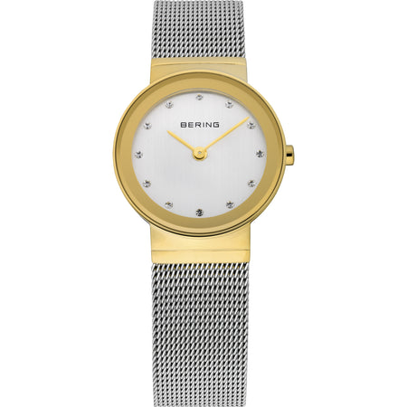 Classic Gold Mesh Watch