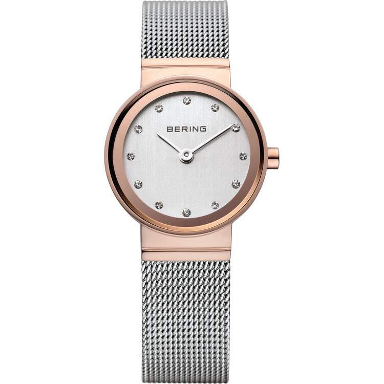 Classic Rose Mesh Watch