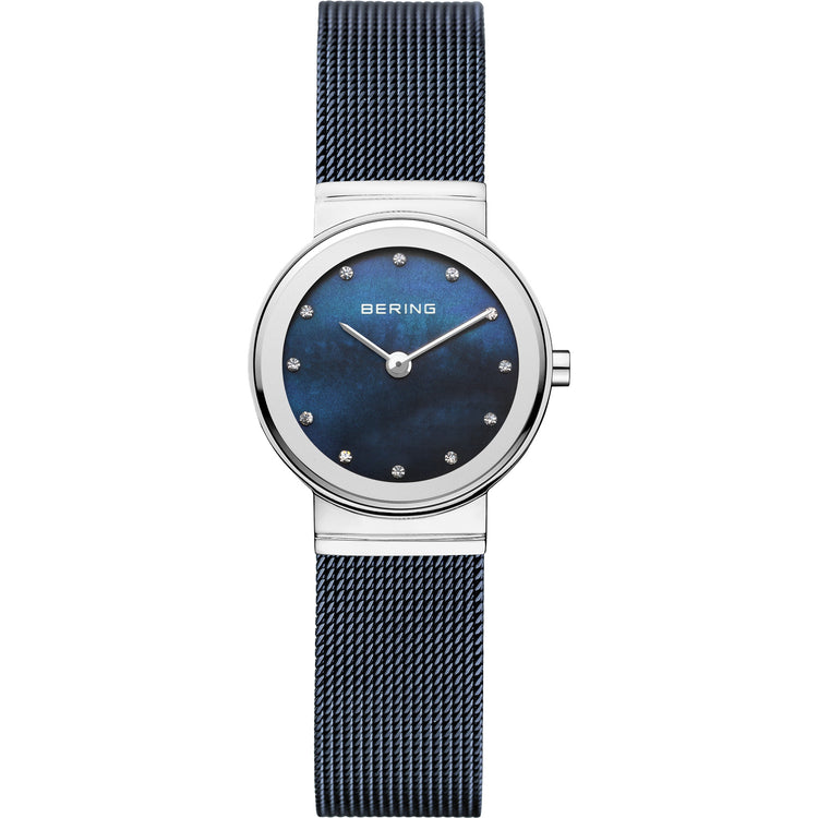 Classic Mother of Pearl Mesh Watch