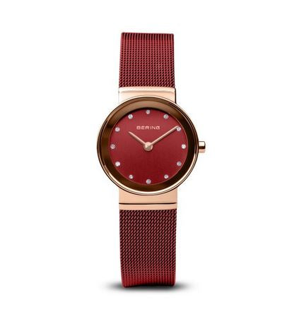 Classic Polished Rose Gold Watch