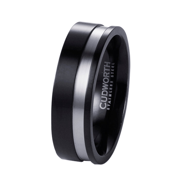Black & Steel Ring