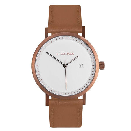 Brown & Copper Watch