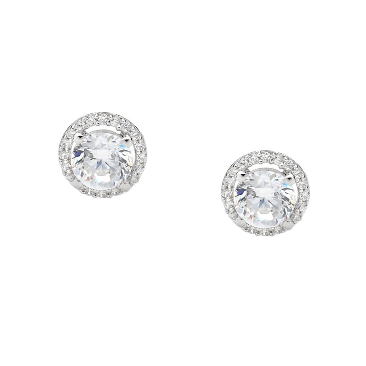Round Stud Earring