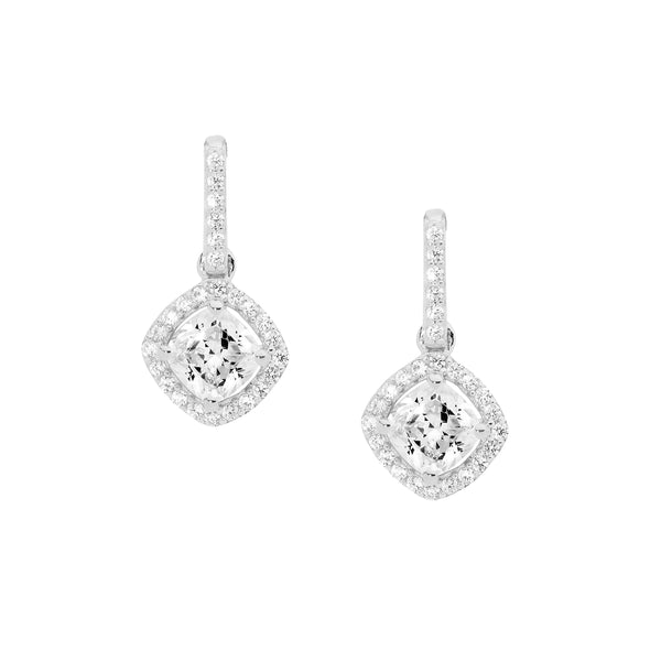 Drop Diamond Shape Earrings
