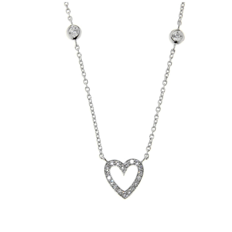 Heart & Stones Necklace