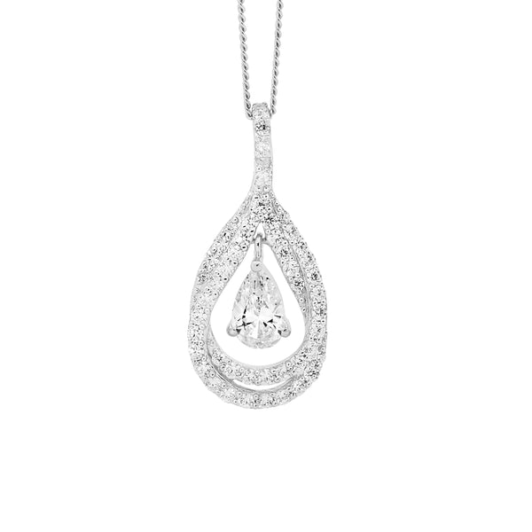 Double Pear Pendant