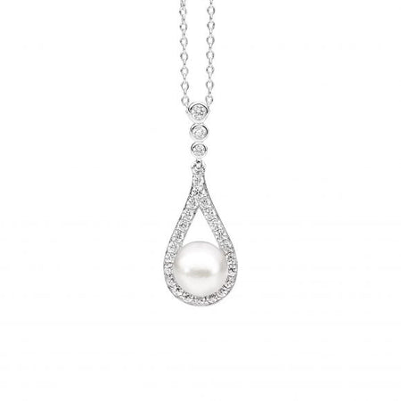 Tear Drop Pearl Pendant
