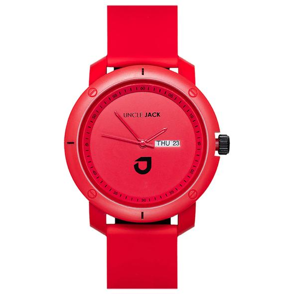 Triple Red Watch