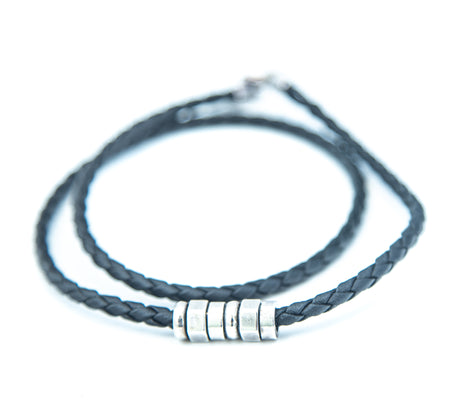 Braided Leather Necklace
