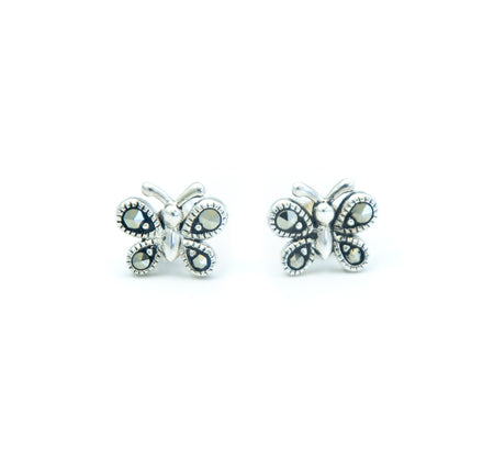 Butterfly Marcasite Earrings