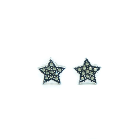 Star Marcasite Earrings