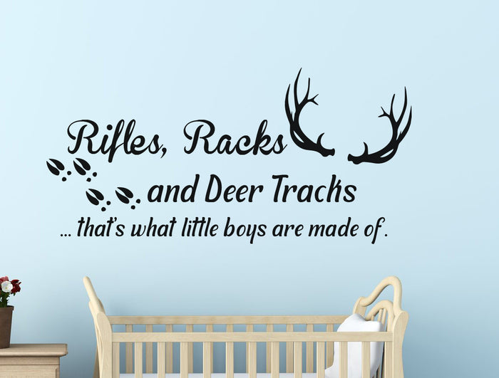 Rifles, Racks and Deer Tracks - Dxdecor