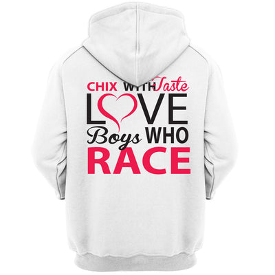 Chicks With Taste Love Boys Who Race.