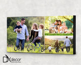 Three Photo Collage Key Hanger