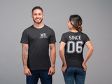 Married Since Couples Shirts - Two Shirts Included