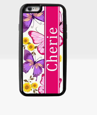 Butterfly and Sunflower Case