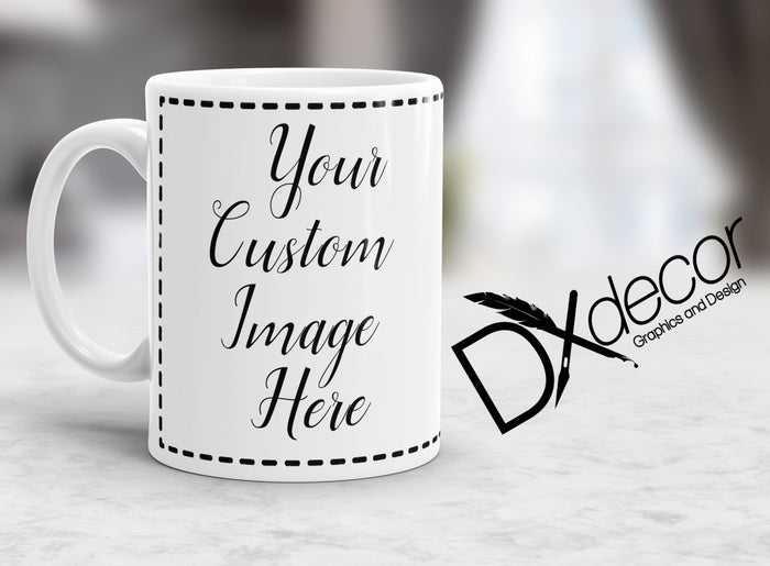 Custom Coffee Cup - Dxdecor