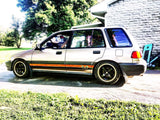 1988-1991 Honda Civic Wagon Side Skirt Decals