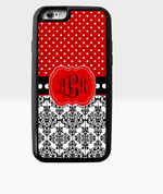 Red Dastash Monogram Case