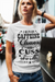 Caffeine, Chaos and Cuss Words Shirt