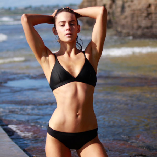 Sporty Swim Pant Black