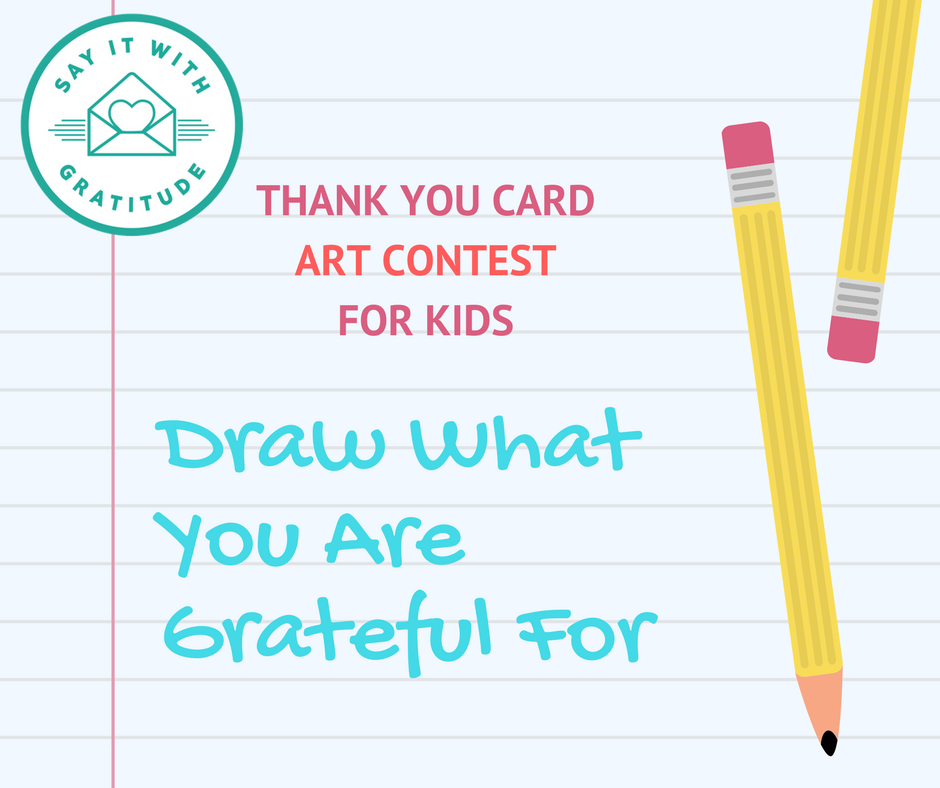 Say It With Gratitude Art Contest