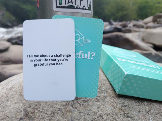 The Grateful Deck Family And Friends Edition - 120 Questions To Start Conversations That Matter