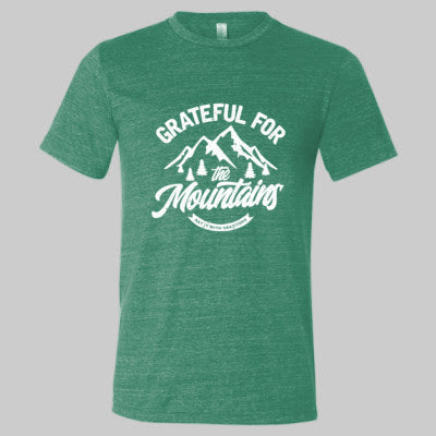 Grateful For The Mountains Short Sleeve Tee [OUT OF STOCK]