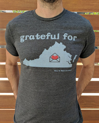 Grateful For Virginia Short Sleeve Tee