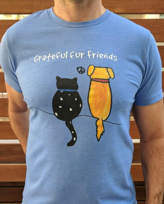 Grateful Fur Friends Short Sleeve Tee