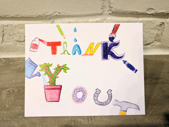 Say It With Gratitude - 1 Pack of 50 Branded Cards with Tips Inside