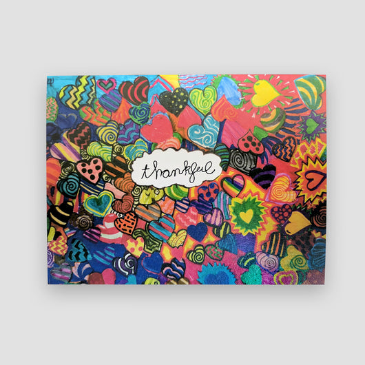 Say It With Gratitude - 1 Pack of 8 Cards: Thankful Design