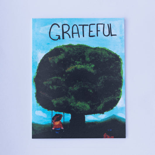 Say It With Gratitude - 1 Pack of 8 Cards: Grateful Tree