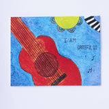 Say It With Gratitude - 1 Pack of 8 Cards: Guitar