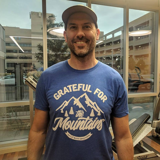 Grateful For The Mountains Short Sleeve Tee
