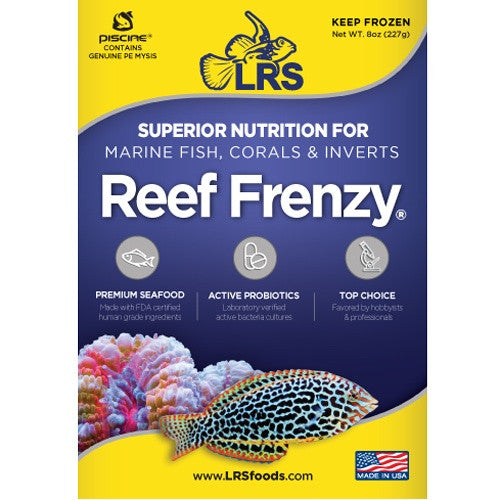 LRS - Reef Frenzy Frozen Food 4oz. and 8oz.