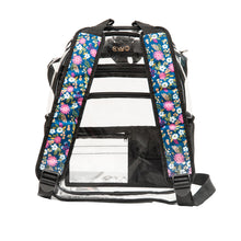 "Transparent Backpack with ""THE APHRODISIAC "" Straps"