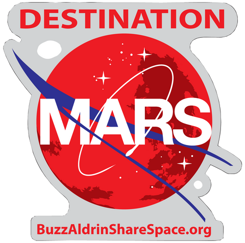 DESTINATION MARS DECAL