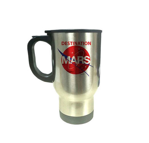 DESTINATION MARS STAINLESS STEEL THERMAL MUG