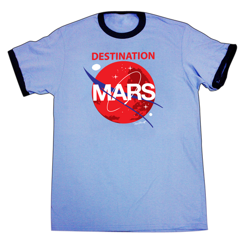 ADULT DESTINATION MARS RINGER SHIRT