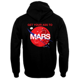ADULT GET YOUR ASS TO MARS HEAVY WEIGHT PULLOVER SWEATSHIRT