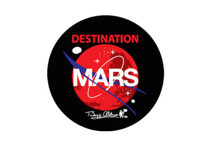 """DESTINATION MARS"" DRINK COASTER"