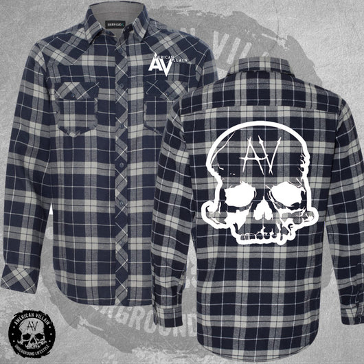 Skull Head Flannel