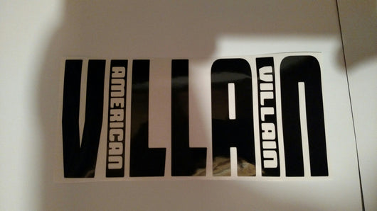 OG Villain Vinyl Decal
